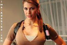 Karima Adebibe Lara Croft Tomb Raider