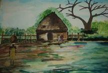 Ola akeem / i love painting