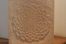 """Mandala Wood Carving / Mandala is a Sanskrit word and means """"circle""""."""