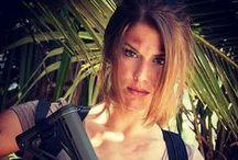 Cosplay Joanna Lara Croft Tomb Raider