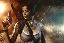 Cosplay Leenna Vamp Lara Croft Tomb Raider