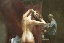 Art - Paintings - Nude Women -