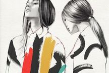 Fashion illos and trends / What I will be wearing....