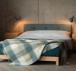 Upholstered Beds and Painted Beds / Our collection of upholstered beds and painted or lacquered beds. Made in Sheffield - Built to Last. http://www.naturalbedcompany.co.uk/product-category/solid-colour-beds/