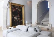 antique & modern interior