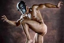 Art - A Nude Man In Color -