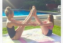 Acro Yoga / Yoga poses to explore and give a go with my beautiful 13 year old daughter Amelie.