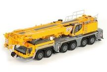 Model Cranes - 1:50 Scale / 1:50 and 1:87 Scale Habour, All-Terrain Mobile, Ringer and Crawler Cranes By World Leading Manufactures such as Towsley's, TWH, NZG, WSI Models and Conrad. Brands include Mammoet, Liebherr, Terex, Tadano, Grove, Manitowoc and Link Belt.