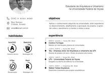CV + portfolio
