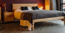 Retro Beds & Bedrooms / Modern bedrooms that show a love of mid-century style.