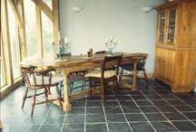 China Black Natural Slate floor and wall tiles / China Black Natural Slate floor and wall tiles.