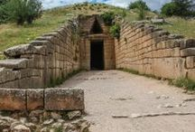 Mycenae Greece / Phoros from my recent visit to the ancient ruins of Mycenae Greece. Lucky to live 5 minutes away from this.