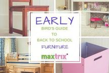 Back to School / Your bedroom furniture and desk essentials for a great new school year.