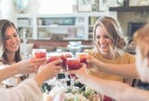 brunch with the brides / The Brides of Oklahoma came to Carlton Landing for a photo shoot. Pictures published in the 2015 Spring/Summer issue. Kami Huddleston is the author of this spread.