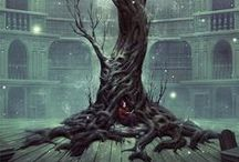 Fantasy creatures, places and stories / (fantasy art)