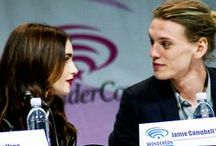 Jamie Campbell- Bower, Liy Collins