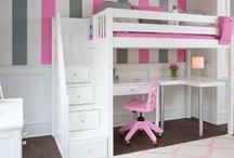 Staircase bunks and beds