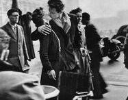 Photographies d'Amour / Les photographies d'amour qui nous inspirent : les amoureux, les jolis baisers, une danse sous la pluie....
