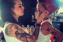 tattoo, piers, plugs