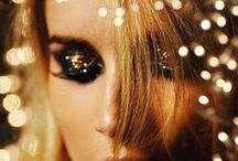 { makeup | dazzle } / . . . all that glitters *is* gold . . .