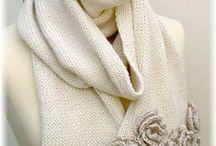 La chaleur des écharpes et des châles