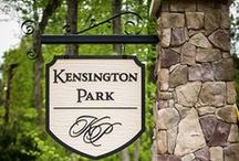 Kensington Park-Pittsboro,NC / Located minutes from historic Pittsboro, Kensington Park is an intimate collection of just 16 executive homes.  Each plan features distinctive architectural styling that adds to the community's custom feel.