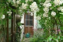 Jardinez en blanc
