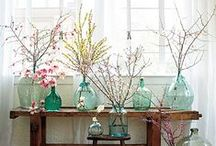 Home Decor for Spring / Spring brings warmer weather and brighter colors. Try these tips and tricks to freshen up your space.