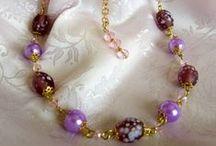 Bijoux / Bijoux realizzati con perline, cristalli e tecniche diverse