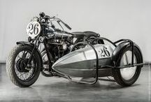 BROUGH SUPERIOR WORKS MUSEUM / Classic Brough Superior bikes on display at BSM Works