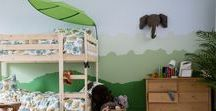 Kids Bedroom Ideas / A whole heap of inspiration to bring your kids imagination to life.