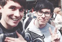 M A I N L Y  D A N  A N D  P H I L / Once again mainly Dan and Phil