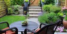 Petit jardin / Idées d'aménagement pour petit jardin et pour terrasse. Les bonnes plantes, le bon mobilier de jardin pour réussir l'aménagement et la décoration d'un jardin en ville, jardin de style japonais, jardin bohème, anglais ou petit potager.