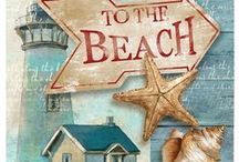To The Beach / My favorite time of the year is summer and my favorite place to be is the beach.  Ocean first choice, lake second! / by Carrie Ward