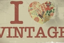 I ❤️ Vintage / by Carrie Ward