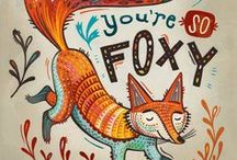 Foxy / Fox related photos, products and illustrations