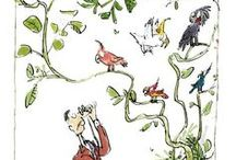 Quentin Blake - Always makes me happy / The colourful, fun, inspiring work of illustrator Quentin Blake