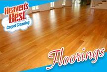 Flooring / Even though you have tried and tried to keep your hardwood floors clean, free of scuff marks, and shining like new, there still seems to be a few dirty spots. There are a lot of reasons that your wood floors become dirty and won't quite shine like new. For the entry ways, the most abused floors in your home, it's the dirt, sand, and moisture accumulation that wears on the floor. That's why it's recommended that your hardwood floors be professionally cleaned and conditioned periodically.