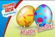 Easter / Heaven's Best's exclusive formula, specialized tools, and trained professionals gently remove dirt, leaving your carpets clean and dry in just 1 hour! We put special care and effort into our carpet cleaning services. Our proven processes are quick, affordable, and safe for children and pets. Our services are specially designed to improve the quality of your carpet and home. We work to be clear on what we offer and how we can give you the longest lasting results possible.