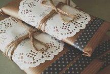 Packaging ~ Lo que nos ha Gustado!   / ¡Mirando y mirando en la red hemos puesto aquí los empaques y tarjetas que más me nos gustado de otras personas! Se merecen un Tablero Especial para ustedes!