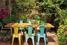 OUTDOOR DESIGN / Miles de opciones paa diseñar un rincon comodo en tu gardin, terraza...