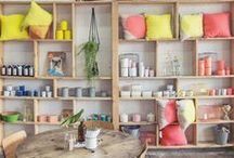 STORE / El diseño de una tienda, la organización de un showroom y la exposición de los productos.