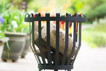 Firebaskets / With many different styles and sizes, you will find a firebasket suitable for your needs. Select a model with a cooking grill to add another feature to these useful braziers or select one purely for adding warmth to your garden.