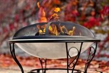Firebowls and Firepits / Create warmth and ambiance in your outdoor space with a firebowl or firepit. The ideal way to ensure you stay warm when the temperature drops.