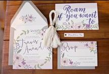 Wedding Invitations / Wedding stationery, invitations, order of service and thank you cards.
