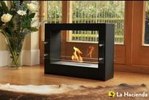 Bio-ethanol Fireplaces / Simple and elegant, bio-ethanol fireplaces are an easy way to bring warmth and ambience into your home or garden. Cool and contemporary, the designs are striking and don't produce any smoke or odour.