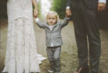 Wedding with Children / Cute ideas for the little guests at your wedding.