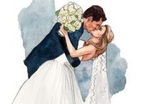 Wedding images decoupage