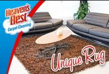 Area Rugs / Vacuuming a rug weekly will help keep dirt and grime from getting pushed deep into the fiber. It may also be wise to vacuum the back of the rugs in your home a few times a year. Another step to take, since most rugs are on a hard surface, like a hardwood floor, is sweeping the floor often which reduces dust that could gather onto the rug.