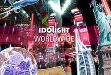 Idolight worldwide / Projects around the world
